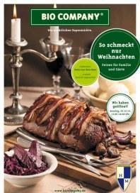 Bio Company So schmeckt nur Weihnachten 2012 November 2012 KW48 1