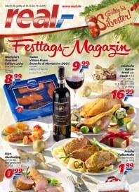 real,- Silvester-Festtags-Magazin Dezember 2012 KW50