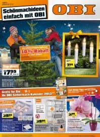 OBI Schönmachideen einfach mit OBI Dezember 2012 KW50