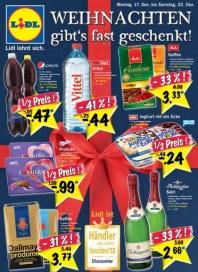 Lidl Weihnachten gibts fast geschenkt Dezember 2012 KW51