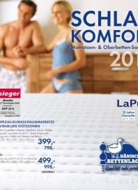 Dänisches Bettenlager Schlafkomfort-Katalog November 2012 KW48