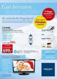 KARSTADT Matratzen und Bettwaren - Gut beraten Dezember 2012 KW49