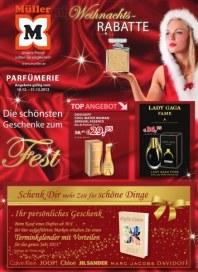 Müller Parfümerie 4 Dezember 2012 KW50