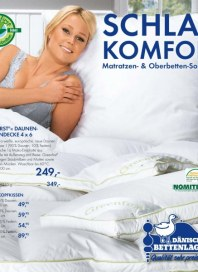 Dänisches Bettenlager Schlafkomfort-Katalog Dezember 2012 KW50