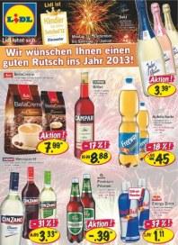 Lidl Aktueller Wochenflyer Lebensmittel Dezember 2012 KW01