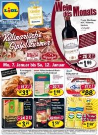 Lidl Aktueller Wochenflyer Lebensmittel Januar 2013 KW02