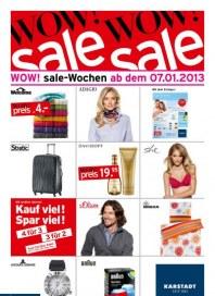 KARSTADT Sale Januar 2013 KW02