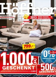 Höffner Immer besser, im günstig Januar 2013 KW01