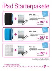 Telekom Shop iPAD Starterpakete Januar 2013 KW01