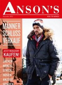 Anson's Mode für Männer Januar 2013 KW02