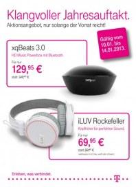 Telekom Shop Klangvoller Jahresauftakt Januar 2013 KW02