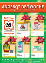 Müller Angebot der Woche Januar 2013 KW03