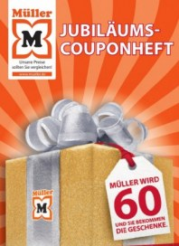 Müller Jubiläums-Couponheft Januar 2013 KW01