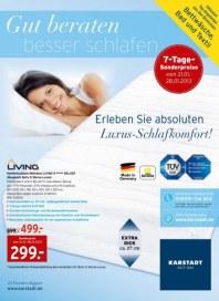 KARSTADT Matratzen und Bettwaren - Gut beraten Januar 2013 KW04 1