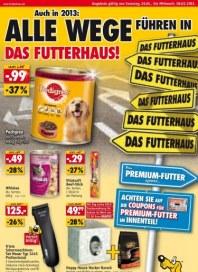 Futterhaus Beim Premium-Futter sparen Januar 2013 KW05
