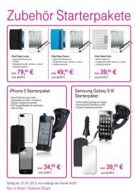Telekom Shop Zubehör Starterpakete Januar 2013 KW05