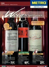 Metro Cash & Carry Wein Spezial Februar 2013 KW06