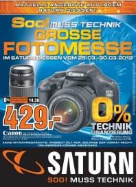 Saturn Grosse Fotomesse Februar 2013 KW08