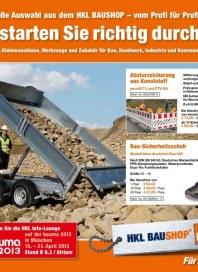 HKL Baumaschinen So starten Sie richtig durch Februar 2013 KW09