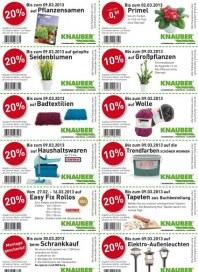 Knauber Freizeitmarkt Rabatt Februar 2013 KW09