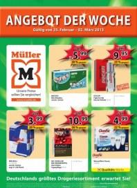 Müller Angebot der Woche Februar 2013 KW09 2