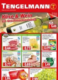 Tengelmann Käse & Wein - ein Geschmackserlebnis März 2013 KW09