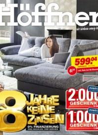 Höffner 8 Jahre keine Zinsen März 2013 KW10