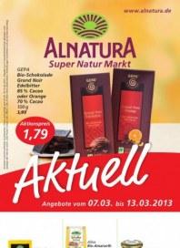 Alnatura Aktuelle Angebote März 2013 KW10