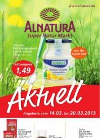 Alnatura Aktuelle Angebote März 2013 KW11 1