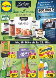 Lidl Aktueller Wochenflyer Lebensmittel März 2013 KW12
