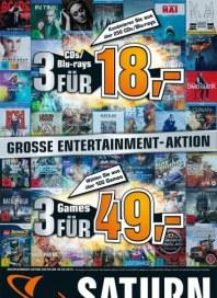 Saturn Große Entertainment-Aktion März 2013 KW12