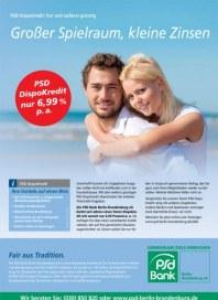 PSD Bank Großer Spielraum, kleine Zinsen März 2013 KW13