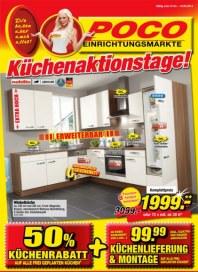 POCO Küchenaktionstage April 2013 KW17
