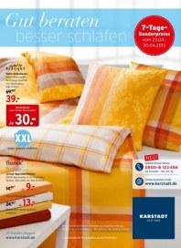 KARSTADT Matratzen und Bettwaren - Gut beraten April 2013 KW17
