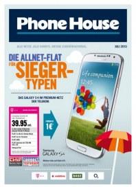 Phone House Alle Netze, alle Handys, riesige Zubehörauswahl Juni 2013 KW26