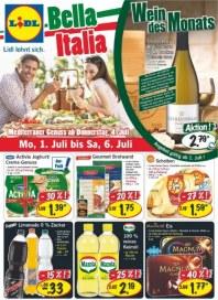 Lidl Aktueller Wochenflyer Lebensmittel Juli 2013 KW27