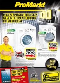 ProMarkt 100% sparsam Juli 2013 KW29