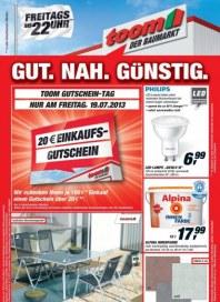 toom Baumarkt Baumarkt-Angebote Juli 2013 KW28