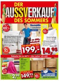 Dänisches Bettenlager Der AuSSVerkauf des Sommers Juli 2013 KW29