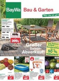 Baywa Bau- & Gartenmärkte Bau & Garten Angebote Juli 2013 KW31