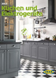 Ikea IKEA Küchen & Elektrogeräte 2013 September 2012 KW35