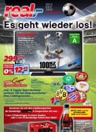 real,- Sonderbeilage - Bundesliga August 2013 KW32
