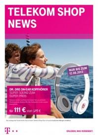 Telekom Shop Telekom Shop News August 2013 KW32