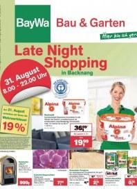 Baywa Bau- & Gartenmärkte Bau & Garten Angebote August 2013 KW35 2