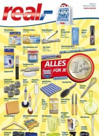 real,- Sonderbeilage - Alles für je 1 Euro September 2013 KW37