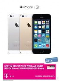 Telekom Shop Erst im besten Netz wird aus einem neuen iPhone ein großartiges iPhone September 2013 K