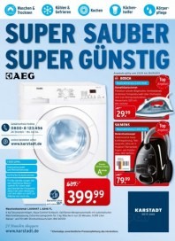 KARSTADT 23.09.2013 Elektro - Super sauber Super günstig - 23.09 September 2013 KW39