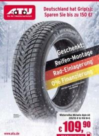 A.T.U Reifen, Felgen & Autoteile zur Wintersaison September 2013 KW39