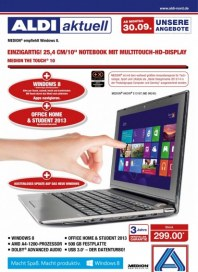 Aldi Nord Aldi Multimedia - Angebote ab Montag, 30.09 September 2013 KW40