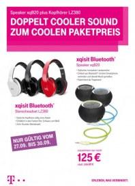Telekom Shop Doppelt cooler Sound zum coolen Paketpreis September 2013 KW39